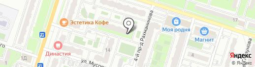Тернопольский на карте Пензы