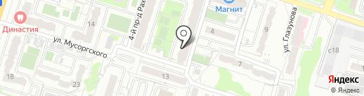Мастерская на карте Пензы
