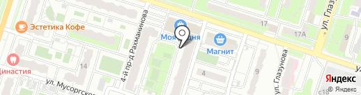 MaXimuM на карте Пензы
