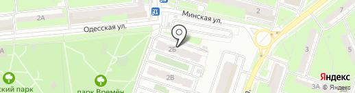 МУП Октябрьский на карте Пензы