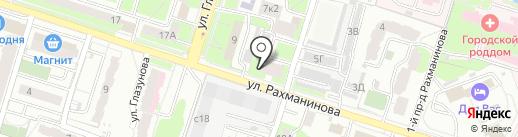 Кактус на карте Пензы