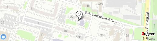 Городская библиотека №17 на карте Пензы
