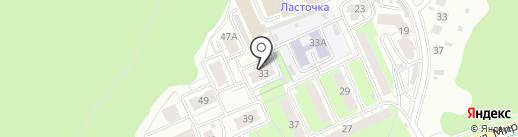 Мирный, ТСН на карте Пензы