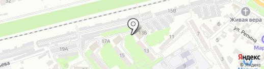 Уголок на карте Пензы