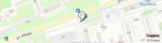 Городская библиотека №14 на карте Пензы