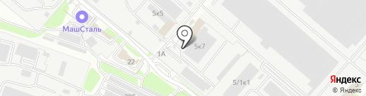 Термит на карте Пензы