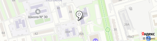Валери на карте Пензы