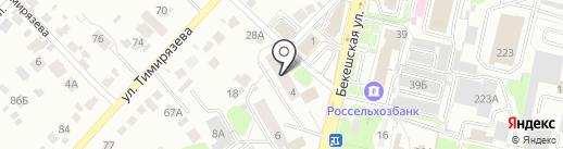 Городская библиотека №12 на карте Пензы