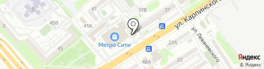 Рокада-Мед-10 Пенза на карте Пензы