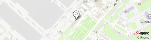 СпецБарьер на карте Пензы