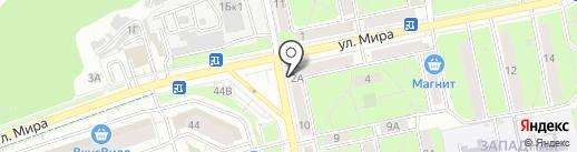 Рубль Бум на карте Пензы