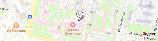 Храм во имя святой Блаженной Ксении Петербургской на карте Пензы