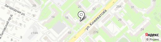 Моршанское жигулевское на карте Пензы