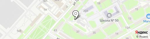 Каскад на карте Пензы