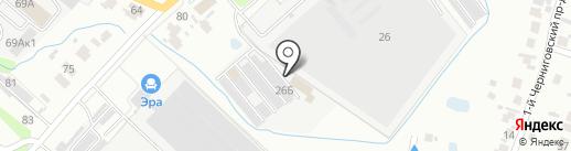 Поворот на карте Пензы