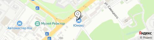 АВТОритет на карте Пензы