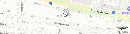 Баня в Райках на карте Пензы