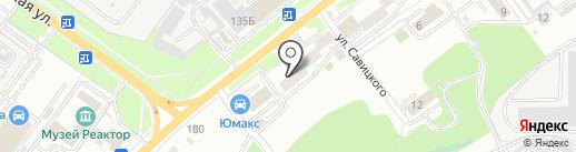 Эльбрус на карте Пензы