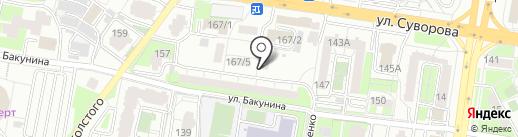 СервисДом на карте Пензы