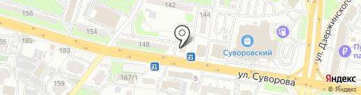 Доброта.ru на карте Пензы