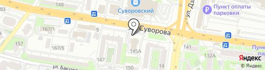 ПензаТеплоГаз на карте Пензы