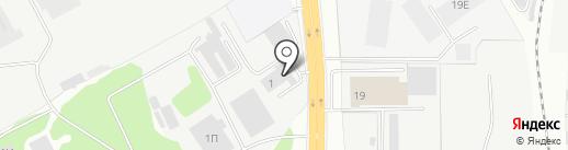 СКД на карте Пензы
