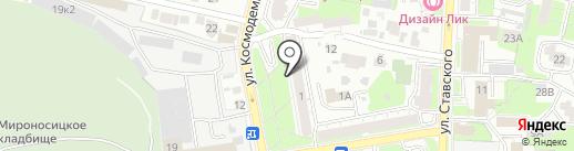 Радио Романтика, FM 99.6 на карте Пензы
