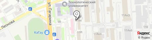 Сура-58 на карте Пензы