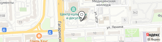 Пензенский русский народный хор им. О.В. Гришина на карте Пензы