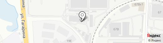 Сервис-Дизель на карте Пензы