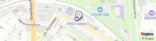 ПромКомплект-НН на карте Пензы