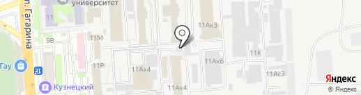 Архимед на карте Пензы
