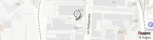 Фемили Рус на карте Пензы