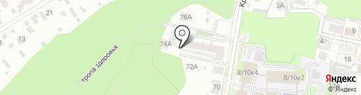 Шаг за шагом на карте Пензы