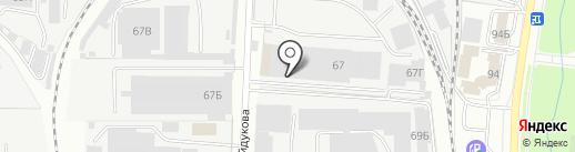 Сталь Кон на карте Пензы