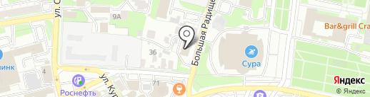 Центр помощи водителям и пешеходам на карте Пензы
