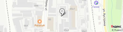 ТЭКС на карте Пензы