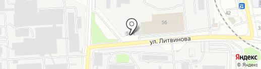 ПК Машстрой на карте Пензы