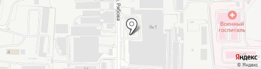 BTS на карте Пензы