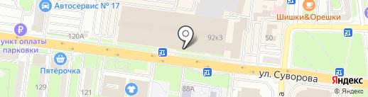 Элекснет на карте Пензы
