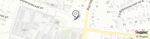 СВ-Сталь на карте Пензы