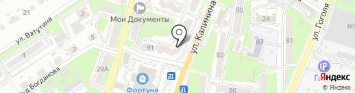 Совкомбанк, ПАО на карте Пензы