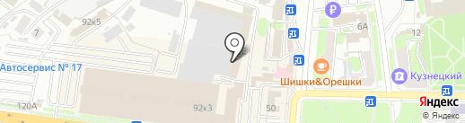 Центр строительства на карте Пензы