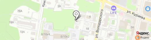 Алексес на карте Пензы