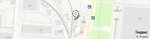 Втормет на карте Пензы
