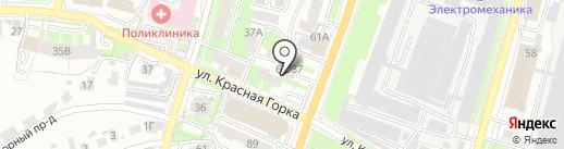 Автомагазин на карте Пензы