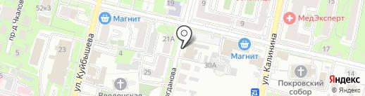 Бухконс на карте Пензы