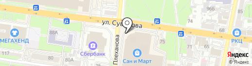 Cosmo на карте Пензы