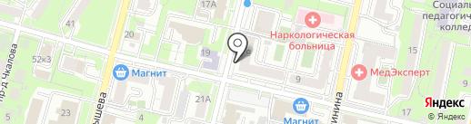 НоваДент на карте Пензы