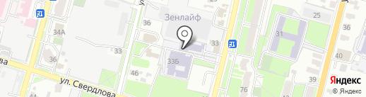 Российский Центр Капоэйры-Пенза-Capoeira Cordao De Ouro на карте Пензы